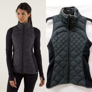 Lululemon fluff off vest size 8